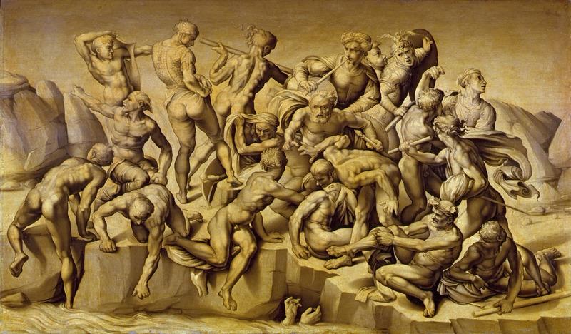 ミケランジェロ 未完の壁画|「アンギアーリの戦い」展から<下 ...
