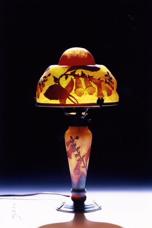 幻想のランプと花のガラス展  アルトネ