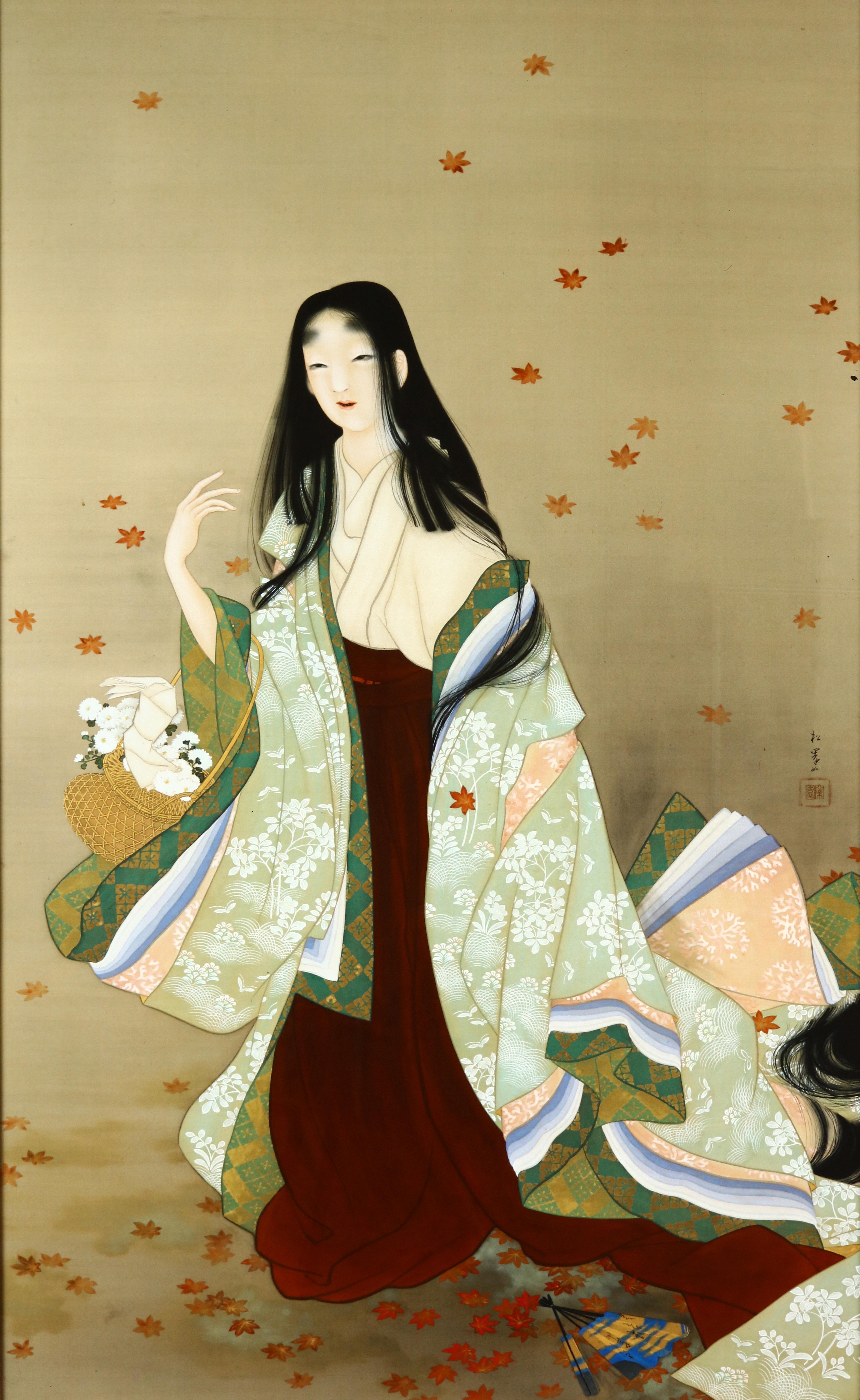 美人画 表情の妙 伊東深水 池田蕉園 上村松園 長崎歴史文化博物館